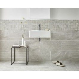 Inverno Grey Marble Effect Rectified Wall And Floor Tile Marbles