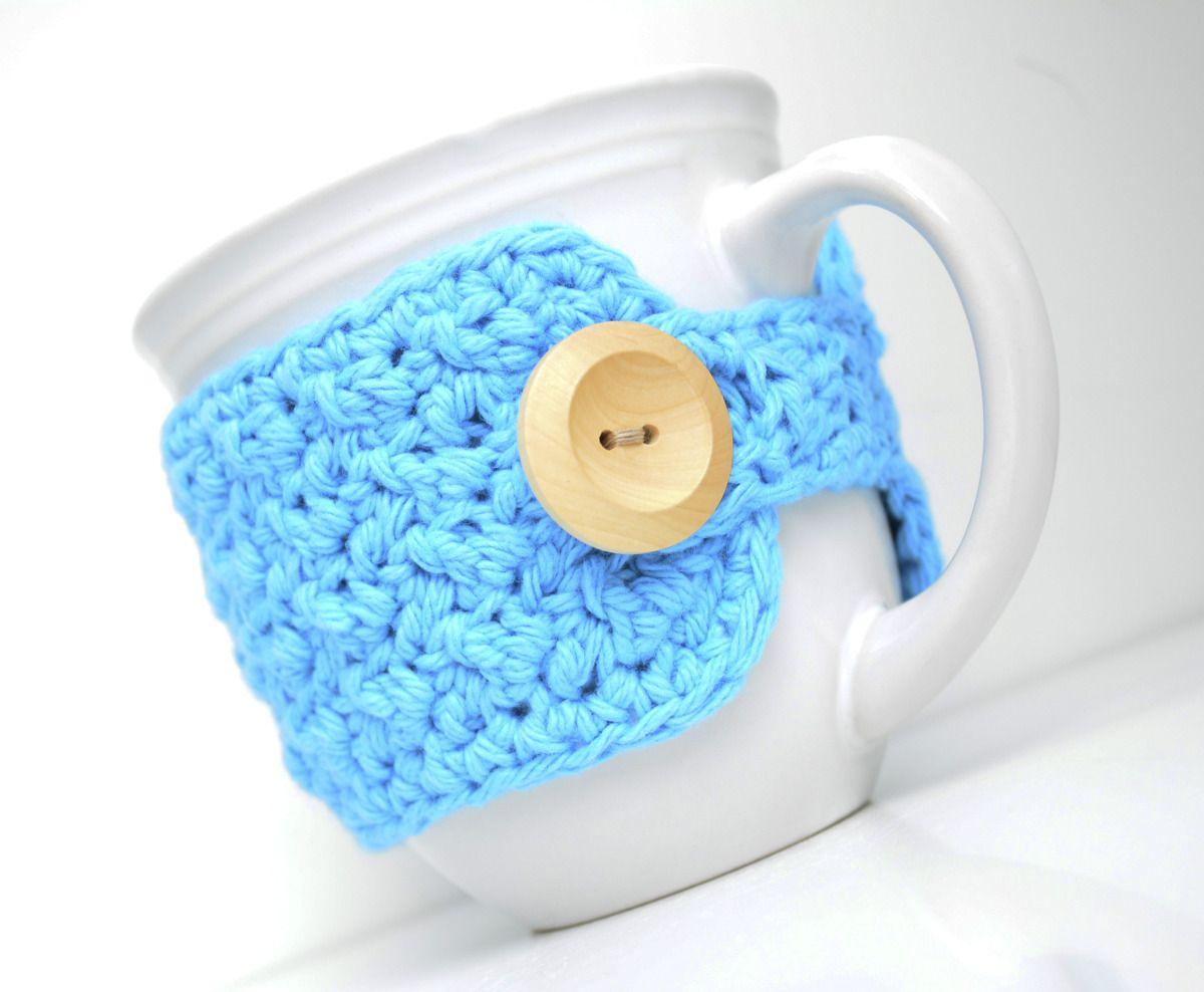 Moderno Taza Crochet Patrón Acogedor Modelo - Manta de Tejer Patrón ...