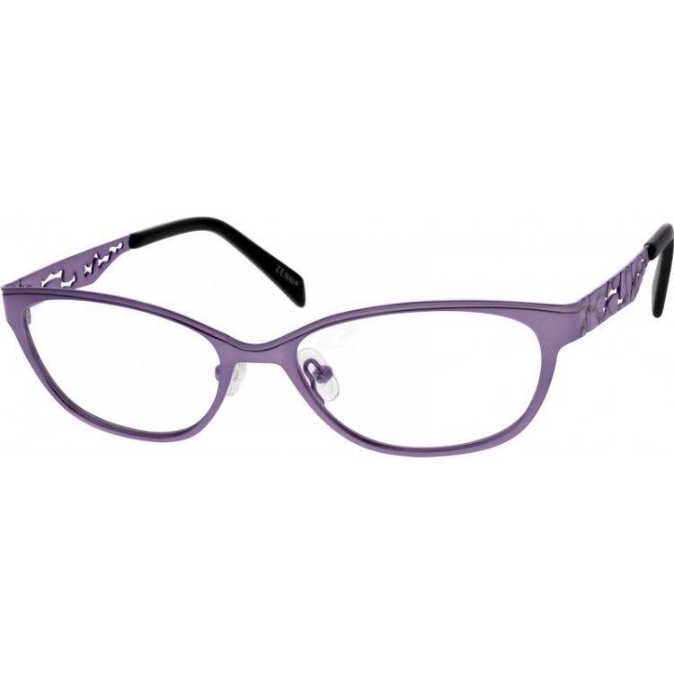 Purple Stainless Steel Full Rim Frame #798017 | Zenni Optical ...