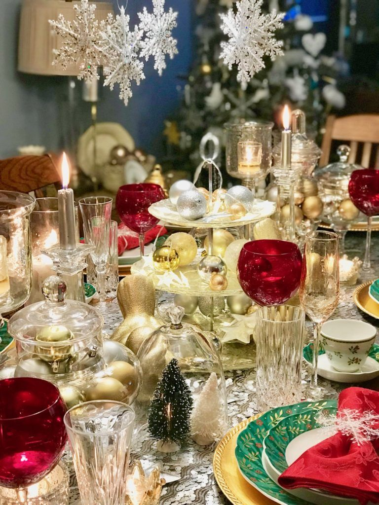Christmas Table Decor How to style your dining room table