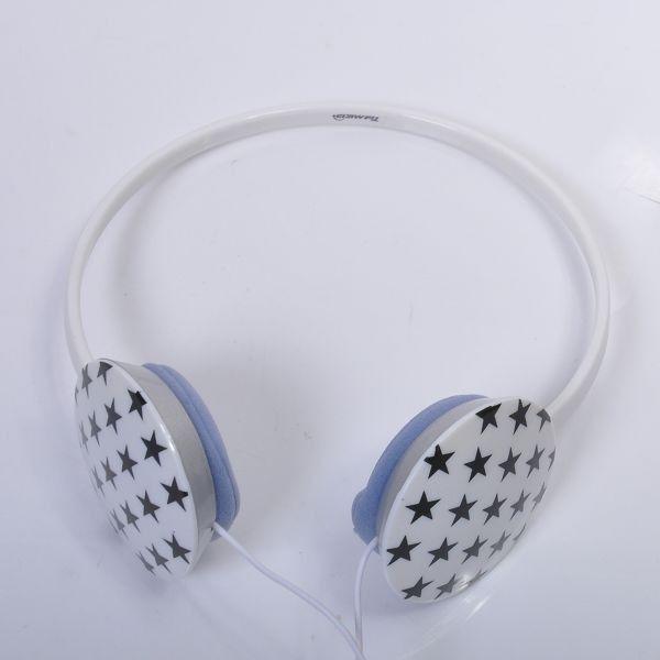 FunkStars Slim Line (Valkoinen) 3,5 mm Stereo Kuulokkeet - Ilmainen Toimitus!