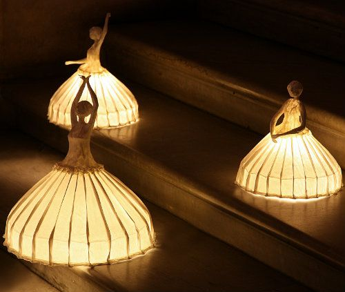 High Quality Ballerina Lamps At The Palais Garnier