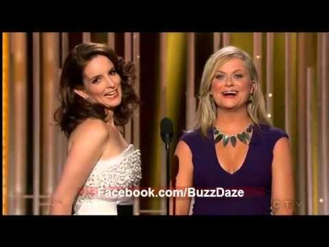 George Clooney Joke - Amy Poehler & Tina Fey Monologue - Golden Globes 2015