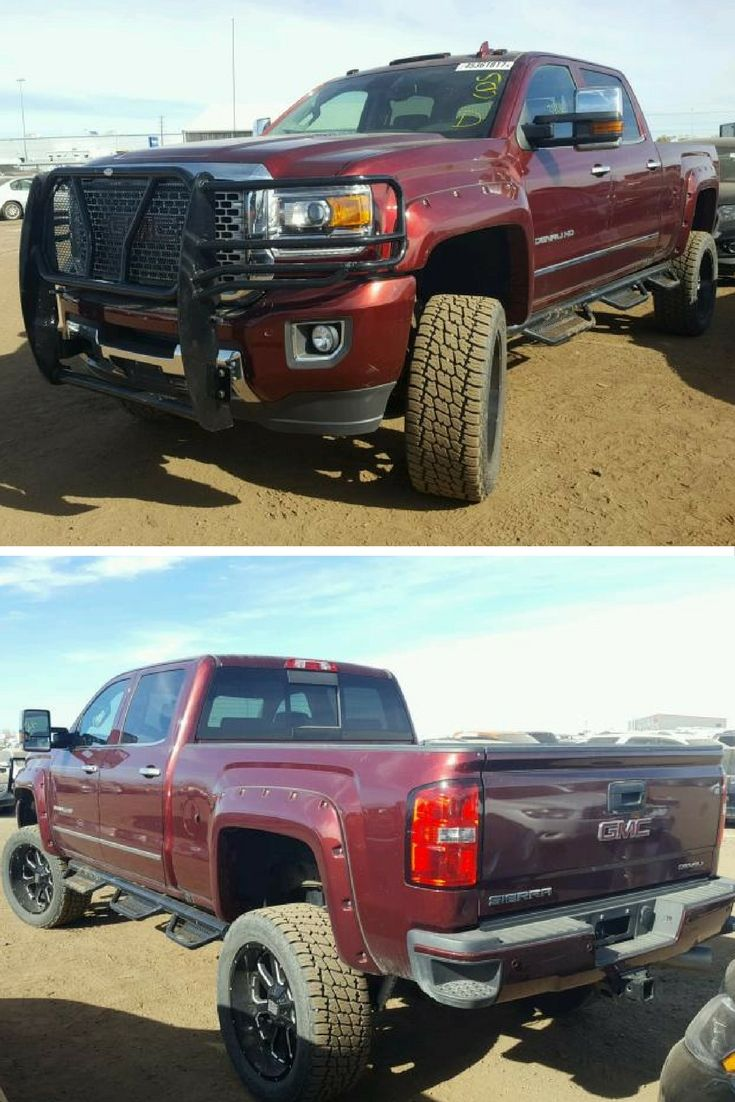 Get Heavy Duty With This 2016 Gmc Sierra Available At Our Copart