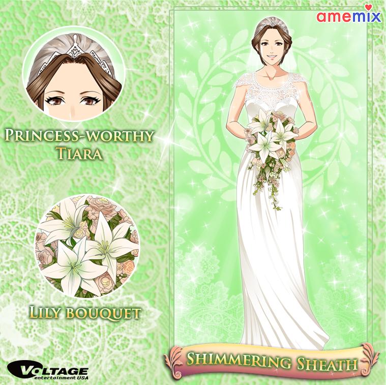 Voltage AmeMix Photo Lily bouquet, Wedding kiss