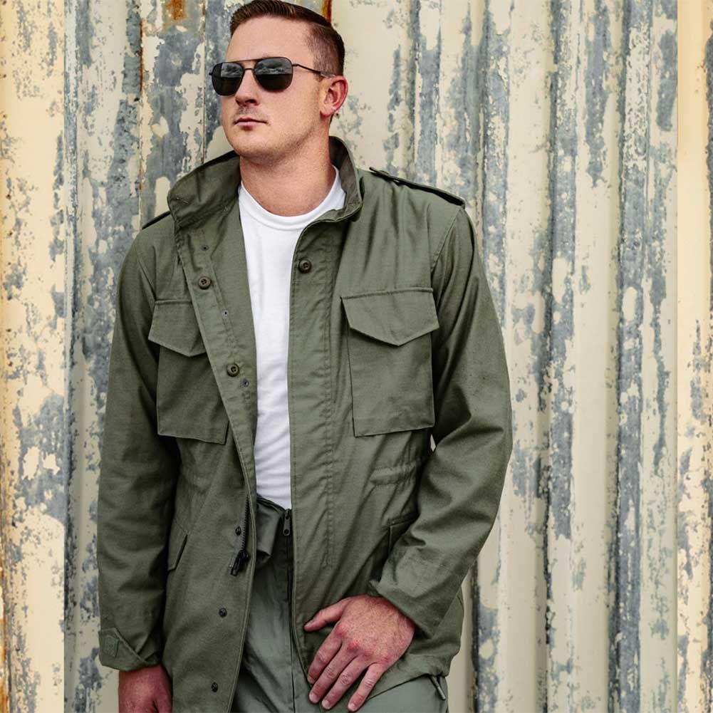 M65 Field Jacket Men S Field Coat M65 Military Jacket M65 Field Jacket Field Jacket Cockpit Usa [ 1001 x 1001 Pixel ]
