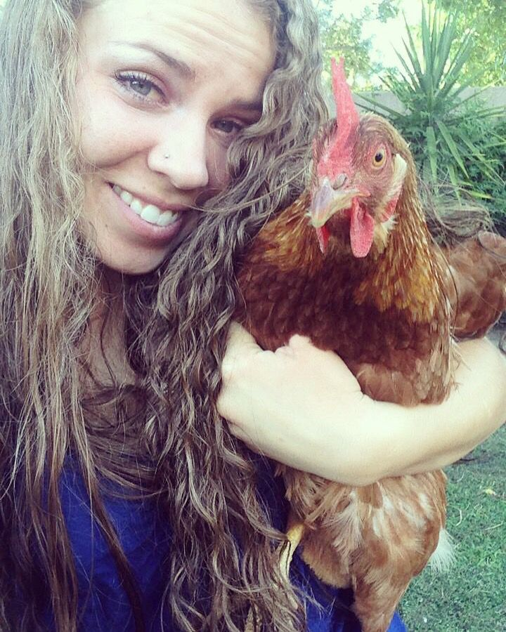 #fbf selfies with Miss Ethel... I miss the hell out of this bossy chicken! ❤️❤️ #TheUrbanLadyBug