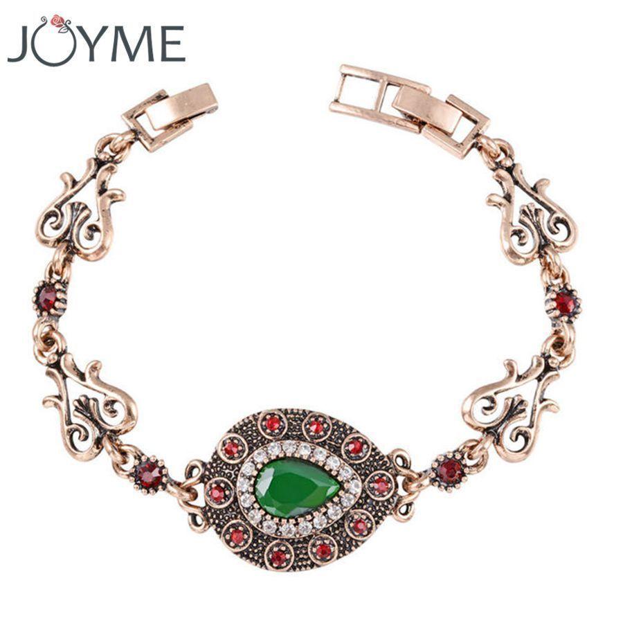Famous brand turkish jewelry bohemian bracelet women water grop