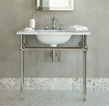 Gramercy Single Metal Washstand Restoration Hardware Traditional