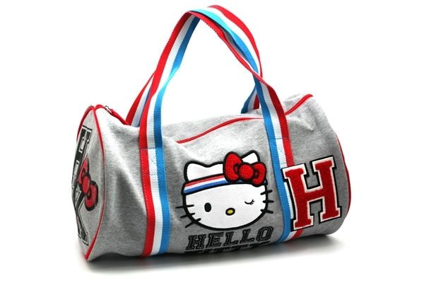 b1aa2b6ca9f6  Hello Kitty Gym - Duffle Bag  - I need to sport this at my fitness center.  HOW CUTE!!!  NeatoPinToWin