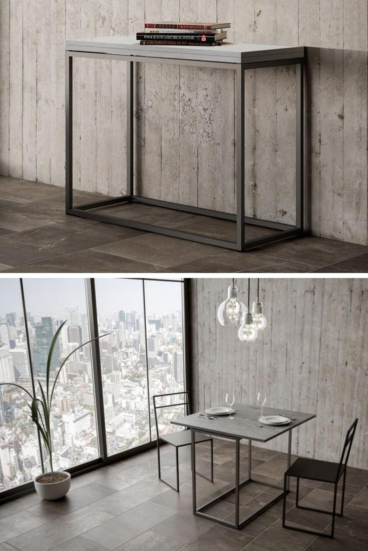 Consolle Nordica Libra Design semplice, Design e Specchi