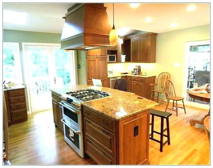 Kitchen Island With Stove Top And Seating Kitchen Island With
