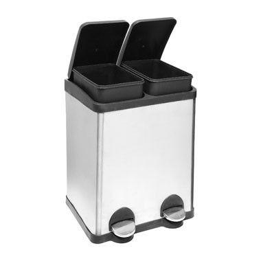 Eko Rejoice Pedaalemmer 30 30 Liter.Pedaalemmer Duo Bin 60 Liter Kitchen Pinterest Ideal Home