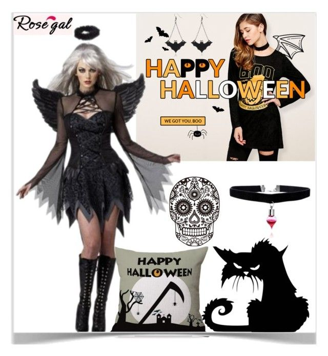 """Rosegal Halloween giveawey"" by kiveric-damira ❤ liked on Polyvore featuring Halloween and giveaway"