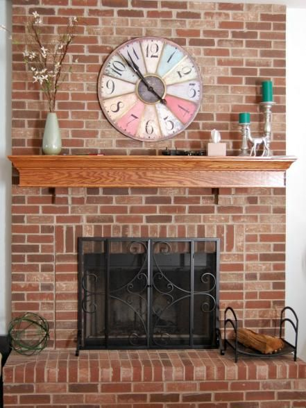 15 fireplace remodel ideas for any budget hearths living spaces for an easy fireplace upgrade you can do yourself take a webpage from terri klemm the design pro and blogger transformed her dark and dated fireplace solutioingenieria Gallery