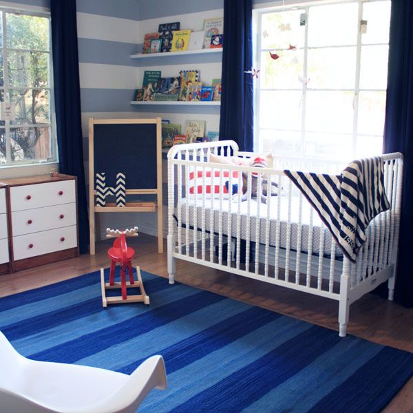 I Am SO In Love With This Nursery!!! The Stripes Are So