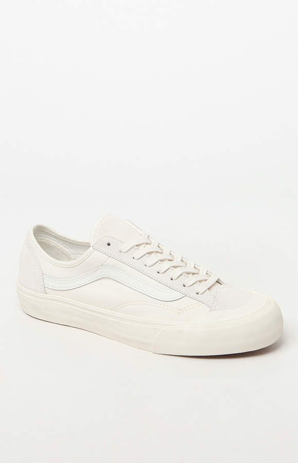 4c63de2b837 Vans Style 36 Decon SF White Shoes