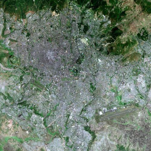 Addis Ababa - Wikipedia, the free encyclopedia   Maps of