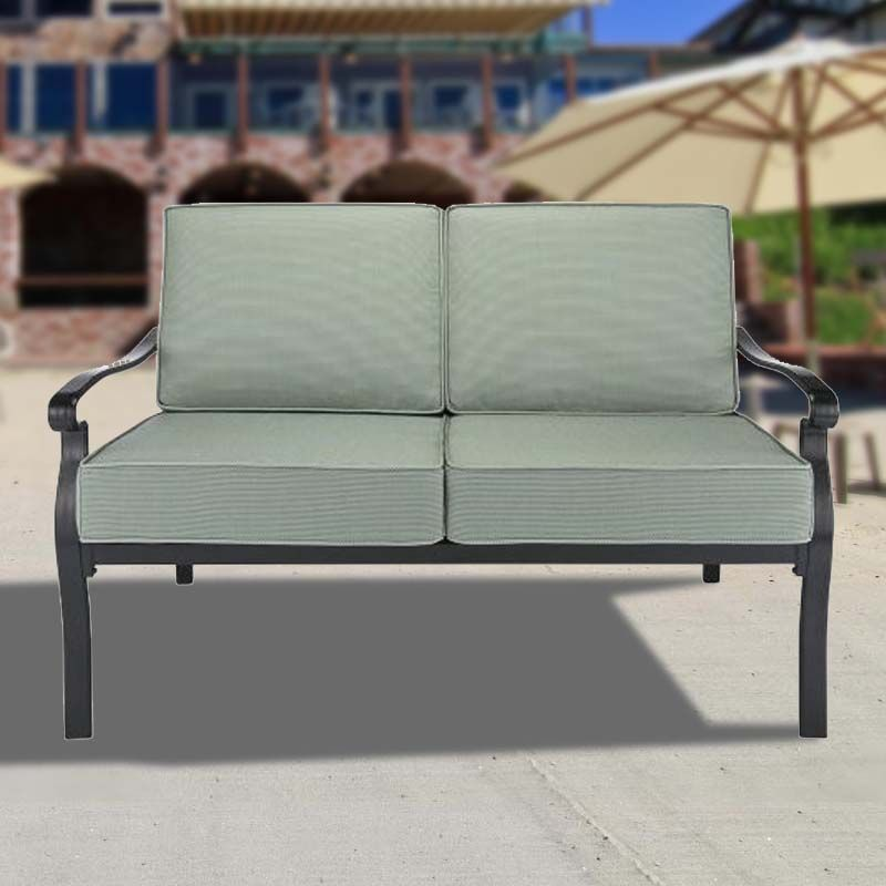 Outdoor Patio Furniture Home Goods: $179.00 Conservatory Love Seat Replacement Cushion Set