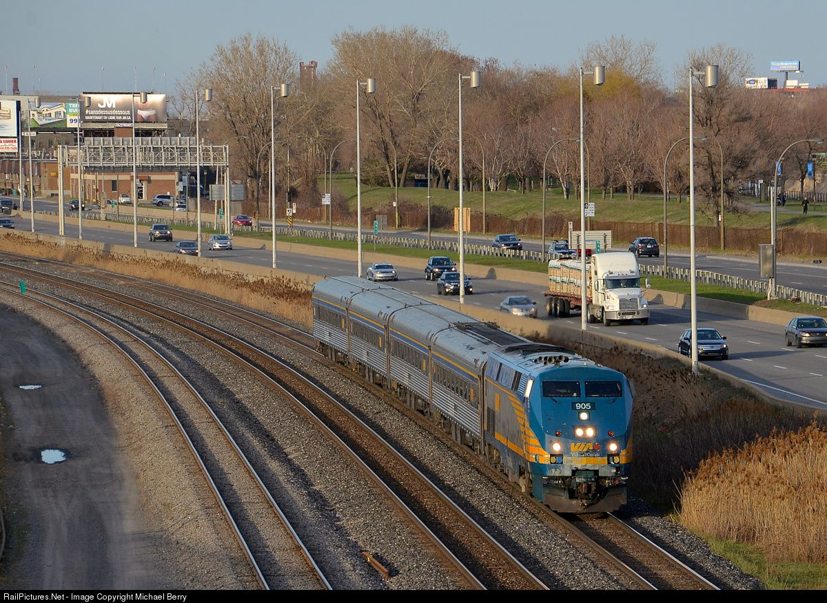 RailPictures.Net Photo: VIA 905 VIA Rail GE P42DC at ...