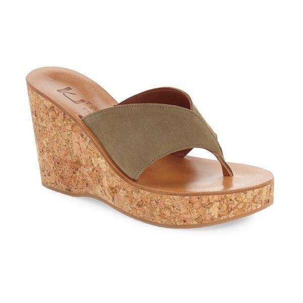 f25d54a46ec Women s K.jacques St. Tropez  Sayuri  Wedge Sandal ( 335) ❤ liked ...