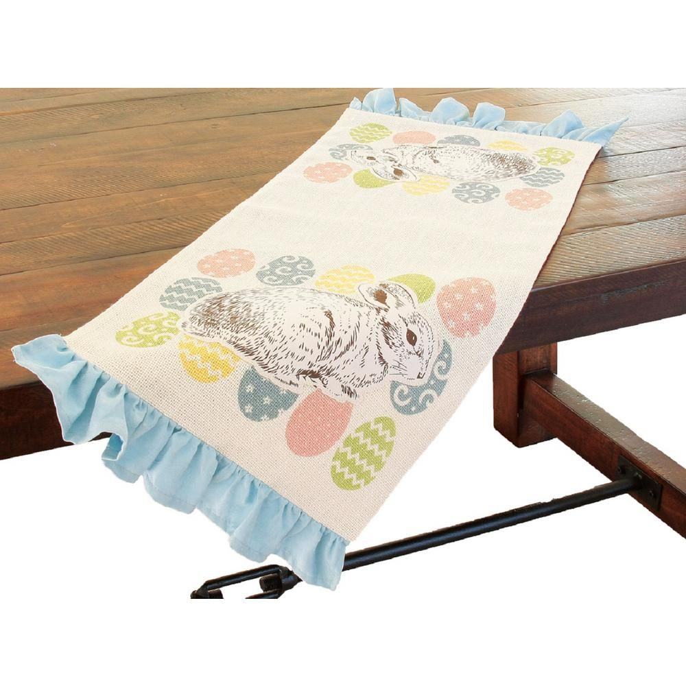 Pin By Eileen Jones On Just Sewing And Stuff In 2020 Easter Table Runners Easter Table Table Runner Size