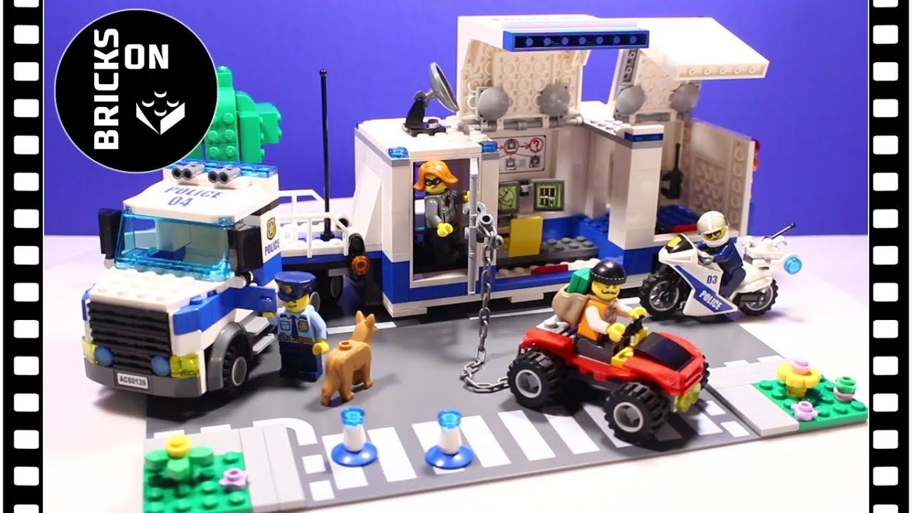 Not So Old Lego City Police Set 60139 Police Mobile Command Center A Different Approach In The Speed Build Lego City Lego City Police Sets Cool Lego Creations