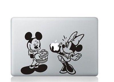 Hund am Steg Apple MacBook Air Pro Aufkleber Skin Decal Sticker Vinyl 11