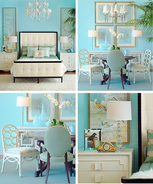 Tiffany Blue Rooms (Color Idea If I Turn My Guest Room Into A Craft Room?