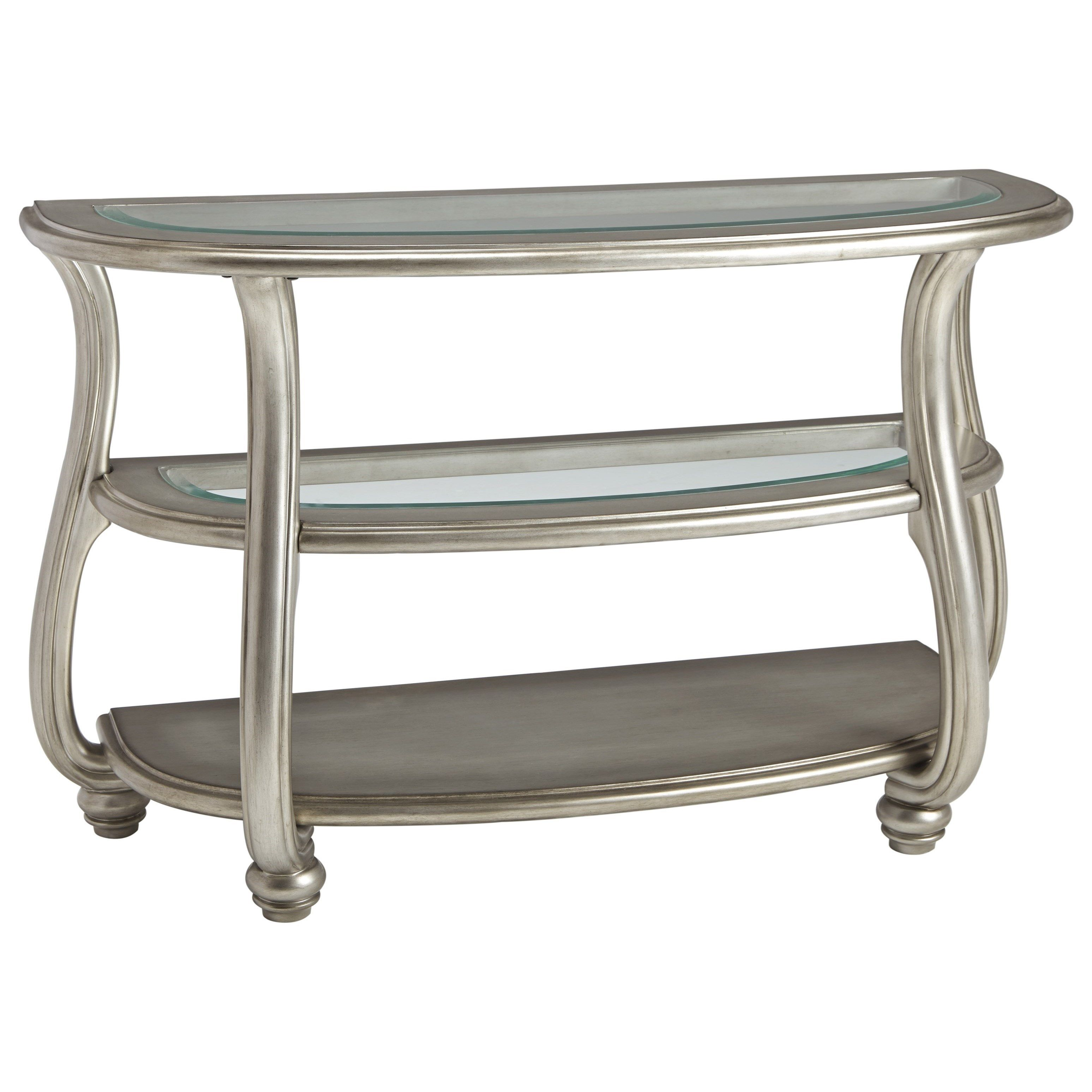 Coralayne Sofa Table by Signature Design by Ashley at Conlin s