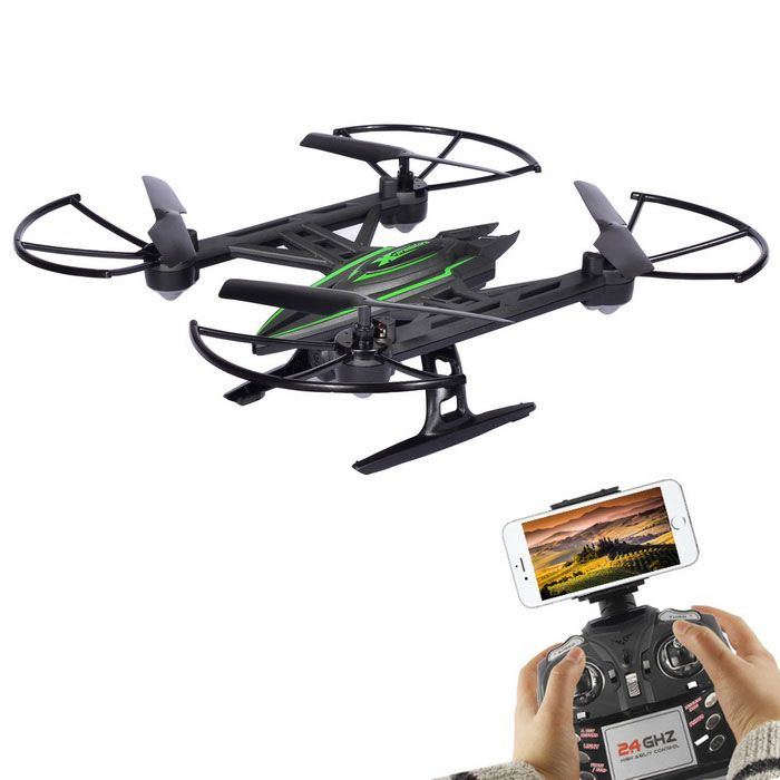 6-Axis Gyro, 360' Flips, One Key Return, Headless Mode, Automatic Air Pressure Set High, WiFi FPV. Find the coo