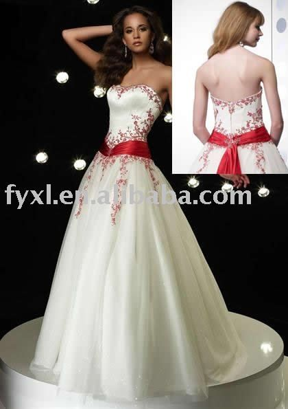 Red And White Wedding Dress.Red And White Wedding Dresses Qy 97 Red And White Wedding Dress