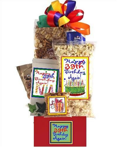 I`ll Never Be 40 Gift Basket for 40th Birthday for only $29.95