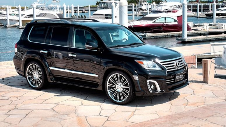 Wald Brings Facelifted Lexus LX Into the Dark Side Cars