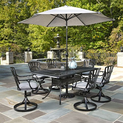 frontenac 9 piece dining set with cushions dining and outdoor