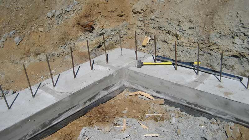 Luxury Poured Concrete Basement