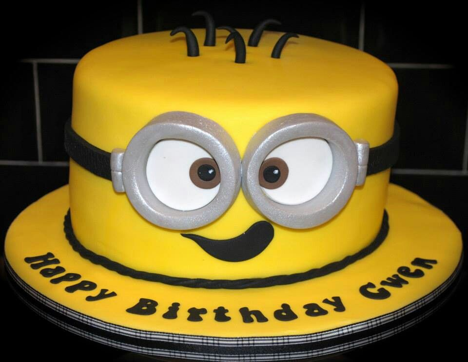 Images Of Minion Birthday Cake : Minion Birthday Cake Kakes for Kenzie Pinterest ...