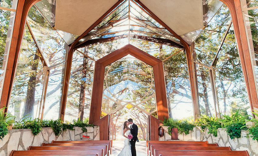 What Do You Think Of This Gorgeous Redwood And Glass Chapel