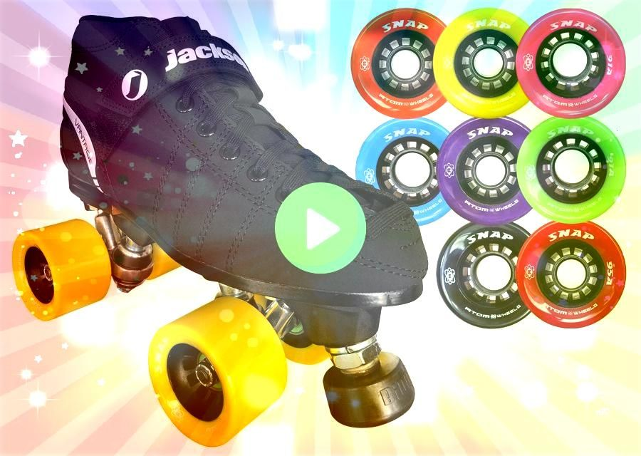 2020 JACKSON VIP RINK SKATE WITH ATOM SNAP WHEELS NEW 2020 JACKSON VIP RINK SKATE WITH ATOM SNAP WHEELS Fame Artistic Roller Skates Fame boot is all vinyl with a soft mic...
