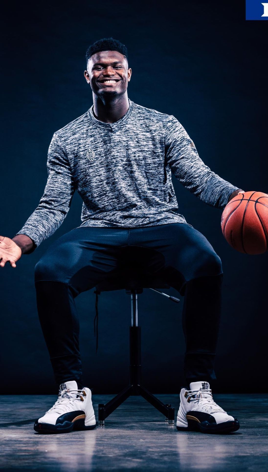 Zion Williamson Duke blue devils basketball, Duke