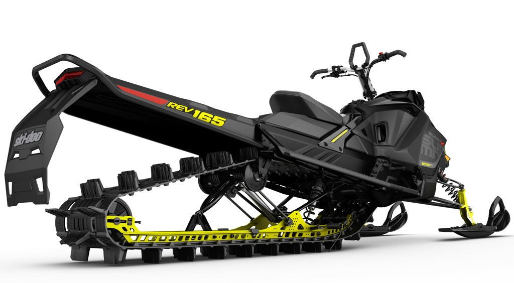 Ski Doo fers New 850cc Mountain Snowmobile for 2017 Snowmobile