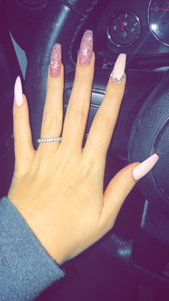 26 Beautiful Summer Nails Art Collection Ideas With Images Coffin Nails Kylie Jenner Coffin Nails Long Long Acrylic Nails