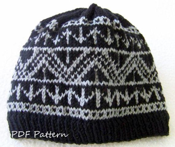 PDF Knitting PATTERN Alexs Fair Isle Hat. by LawsOfKnitting $5.50 ...