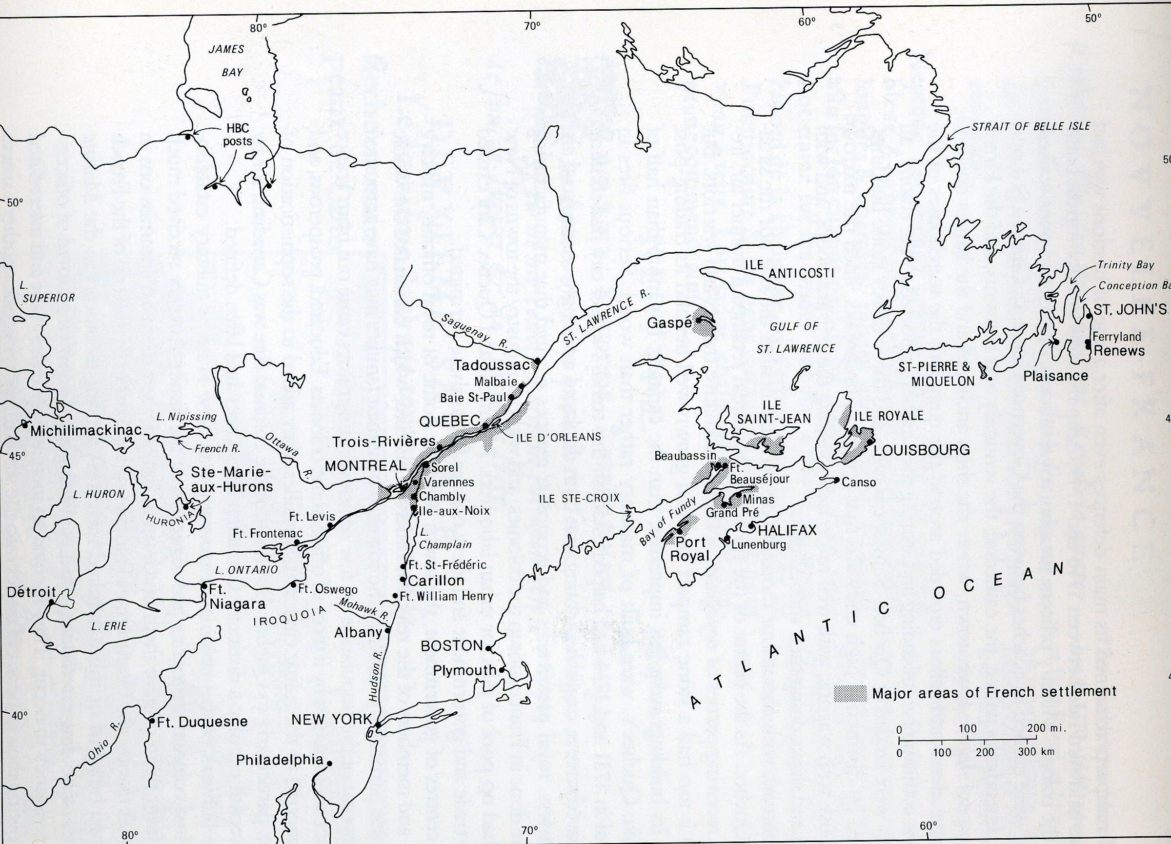 Ile dOrleans New France 1600s Canada Pinterest France