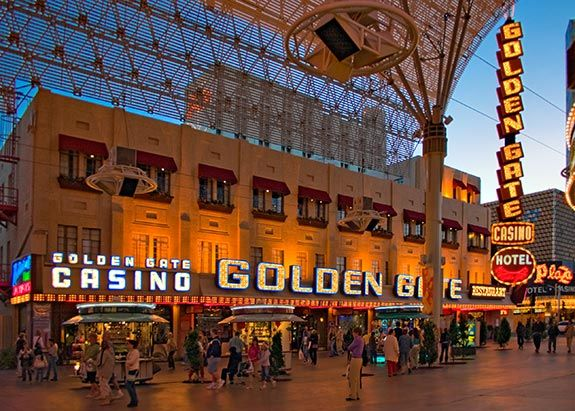 The Golden Gate Hotel And Was First Opened In Las Vegas