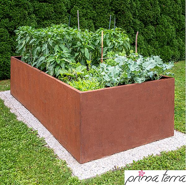 Hochbeet Edelrost Optimus 240 X 100 Cm Hohe In 2020 Garden Types Garden Design Amazing Gardens