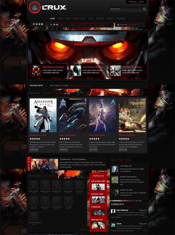 Concept | forum design | Pinterest