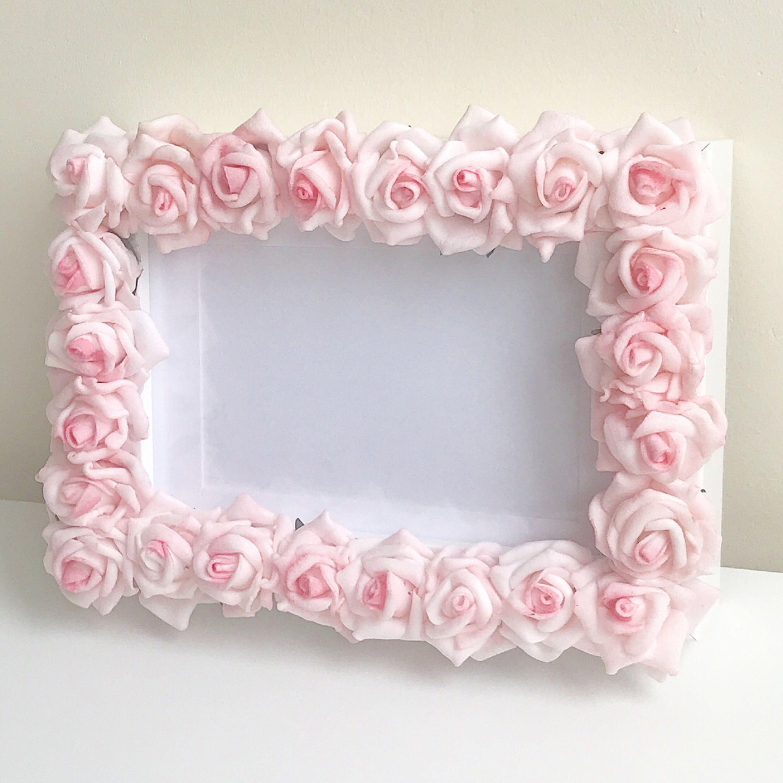 Floral Frame, Vintage, Home Decor, Home Improvement, Bedroom Decor ...