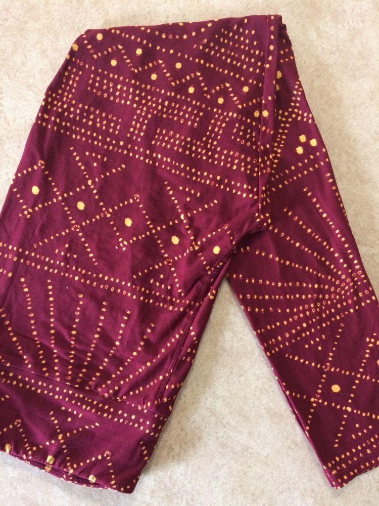 Lularoe TC Tall Curvy Leggings Solid Pink Magenta HTF Unicorn Pants New