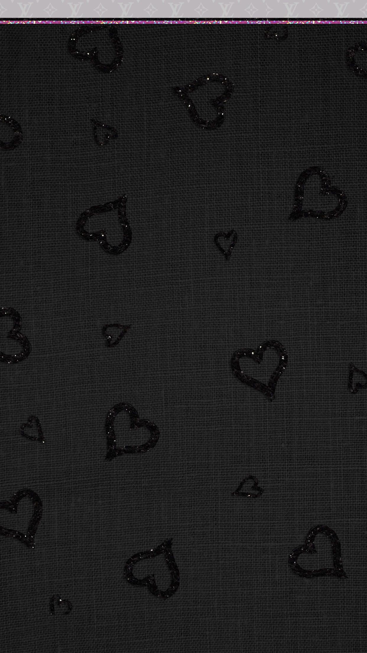 Get Good Black Wallpaper Iphone Glitter Valentines Day for iPhone XR Free